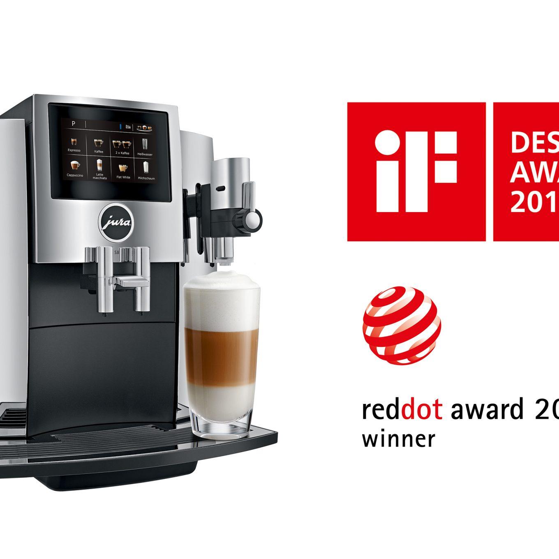 Auszeichnung mal zwei: Die S8 in Chrom gewinnt den iF Design Award und den Red Dot Award: Produkt Design 2018